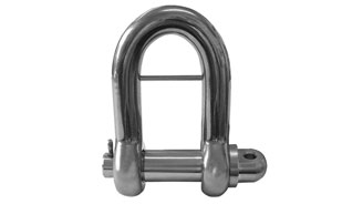 High Corrosion Resistance Stainless Steel Bow Shackles with Saftey Pin