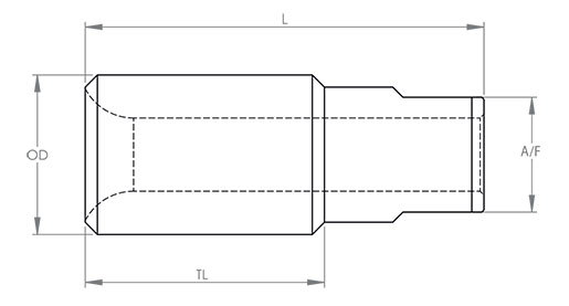 Rod Nose Technical Drawing